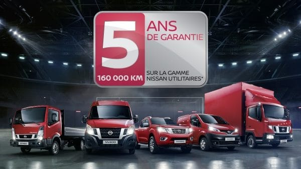 VEHICULES UTILITAIRES NISSAN